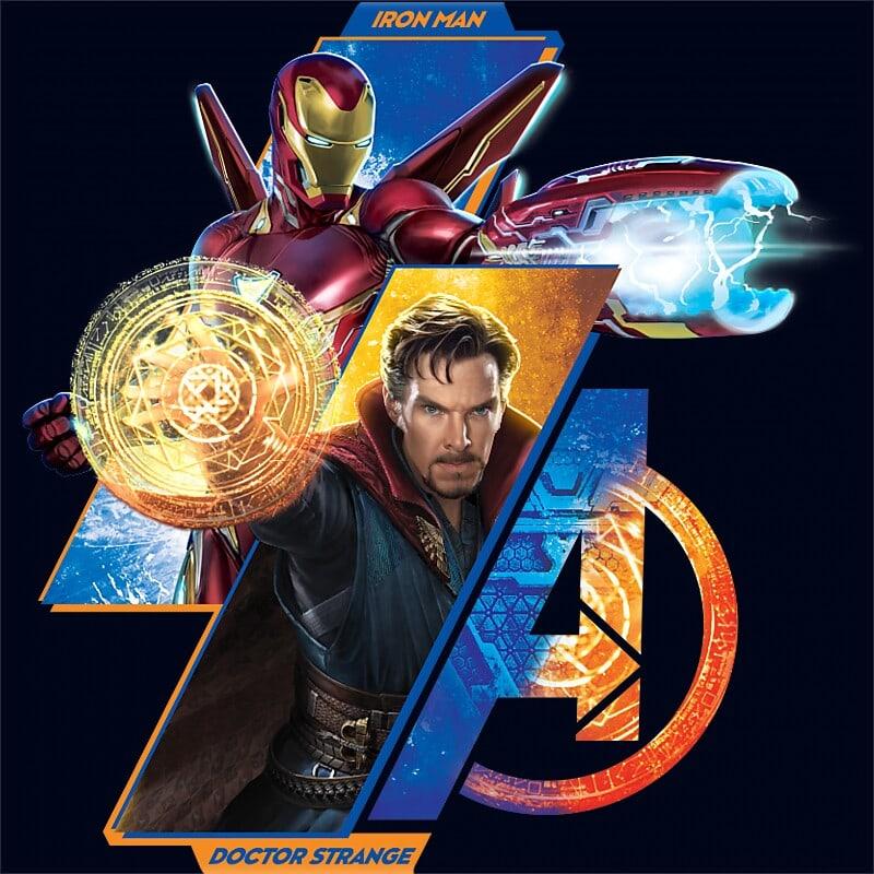Doctor Strange and Iron man Póló - Ha Dr Strange rajongó ezeket a pólókat tuti imádni fogod!