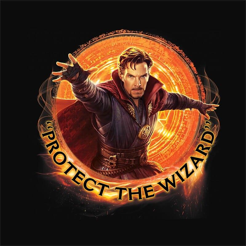 Protect the wizard Póló - Ha Dr Strange rajongó ezeket a pólókat tuti imádni fogod!