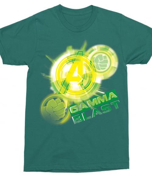 Gamma Blast Póló - Ha Hulk rajongó ezeket a pólókat tuti imádni fogod!
