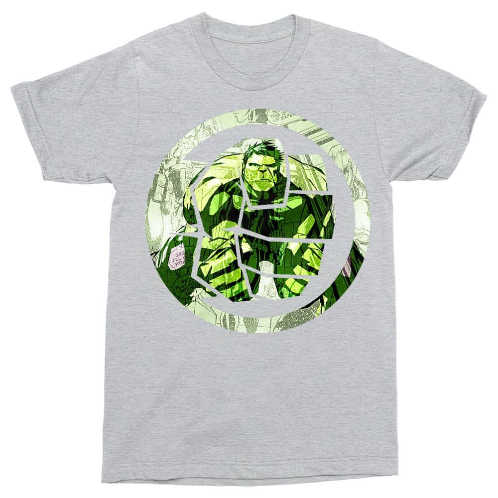 Hulk comics logo Póló - Ha Hulk rajongó ezeket a pólókat tuti imádni fogod!