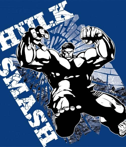 Hulk smash Póló - Ha Hulk rajongó ezeket a pólókat tuti imádni fogod!