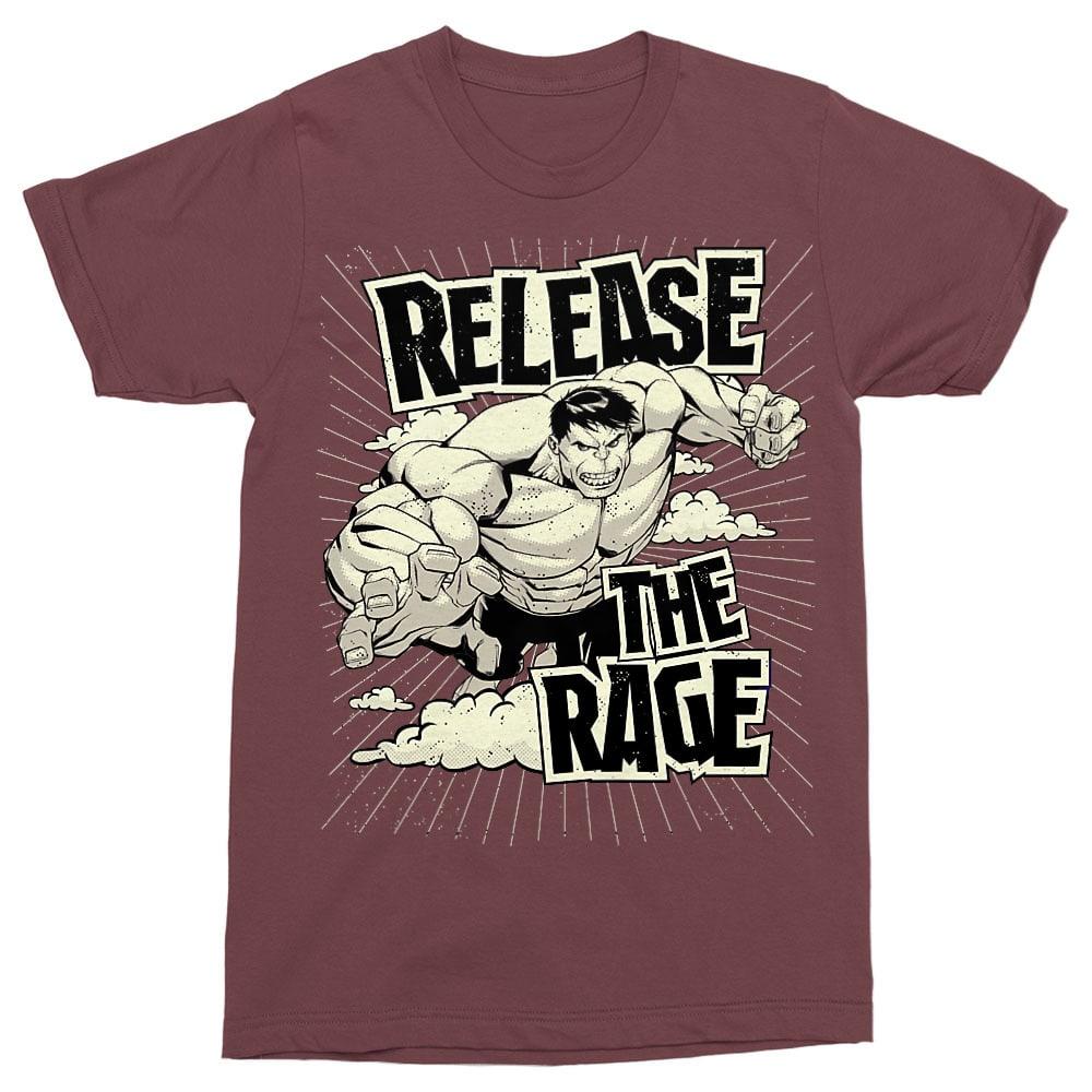 Release the rage Póló - Ha Hulk rajongó ezeket a pólókat tuti imádni fogod!