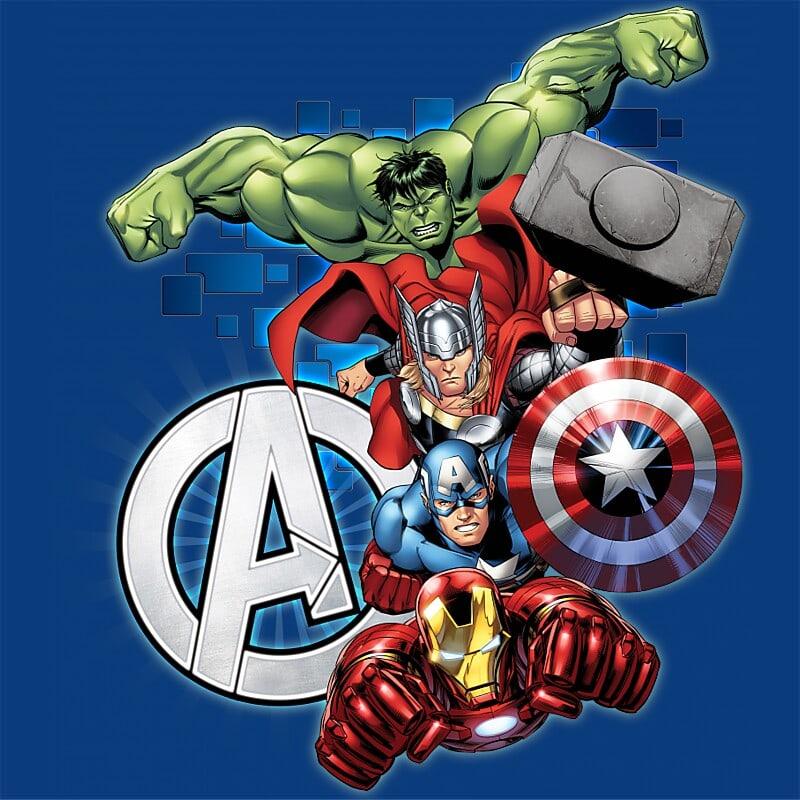 Avengers Team Póló - Ha Avengers rajongó ezeket a pólókat tuti imádni fogod!