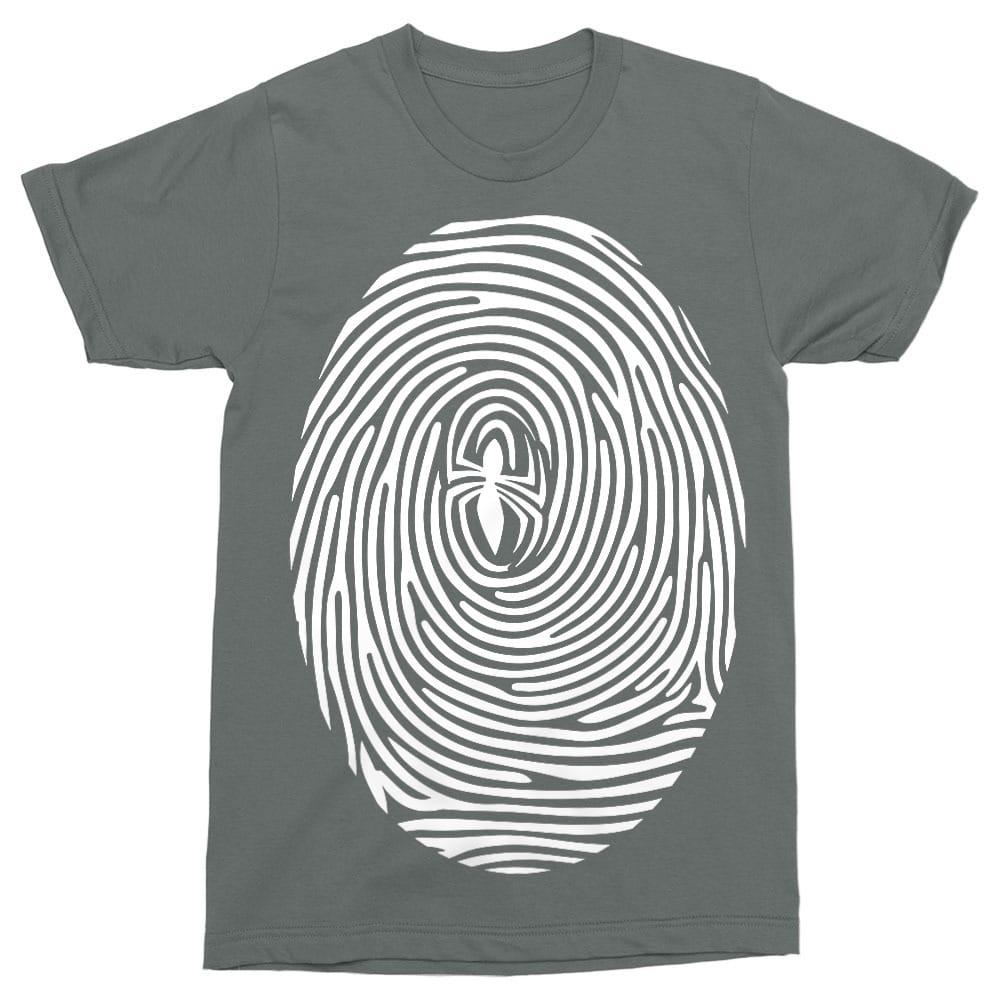 Spider-Man fingerprint Póló - Ha Spiderman rajongó ezeket a pólókat tuti imádni fogod!
