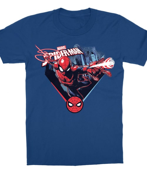 Spider-Man jump Póló - Ha Spiderman rajongó ezeket a pólókat tuti imádni fogod!