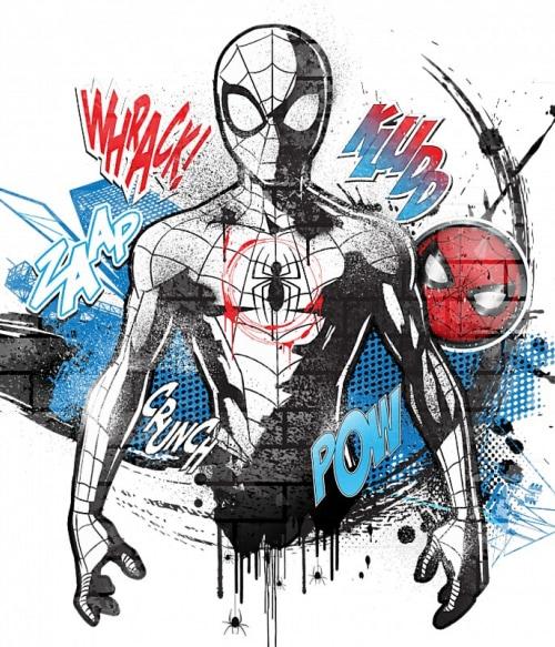 Spider-Man paint Póló - Ha Spiderman rajongó ezeket a pólókat tuti imádni fogod!