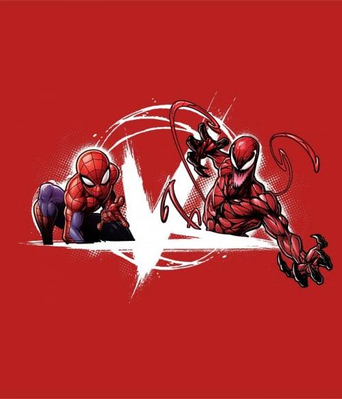 Spider-Man vs Carnage Póló - Ha Spiderman rajongó ezeket a pólókat tuti imádni fogod!