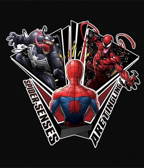 Spider sense Póló - Ha Spiderman rajongó ezeket a pólókat tuti imádni fogod!