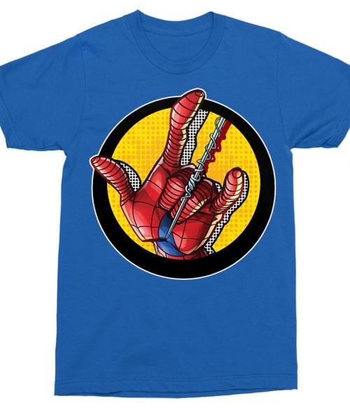 Spider-Man hand Póló - Ha Spiderman rajongó ezeket a pólókat tuti imádni fogod!