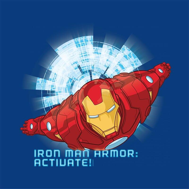 Armor Activate Póló - Ha Iron Man rajongó ezeket a pólókat tuti imádni fogod!