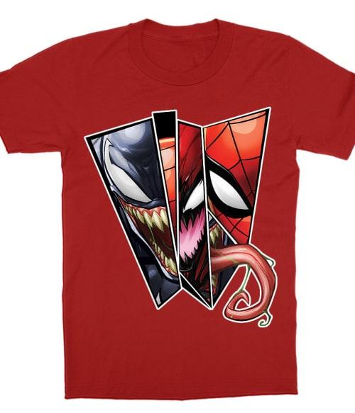 Venom comics Póló - Ha Spiderman rajongó ezeket a pólókat tuti imádni fogod!
