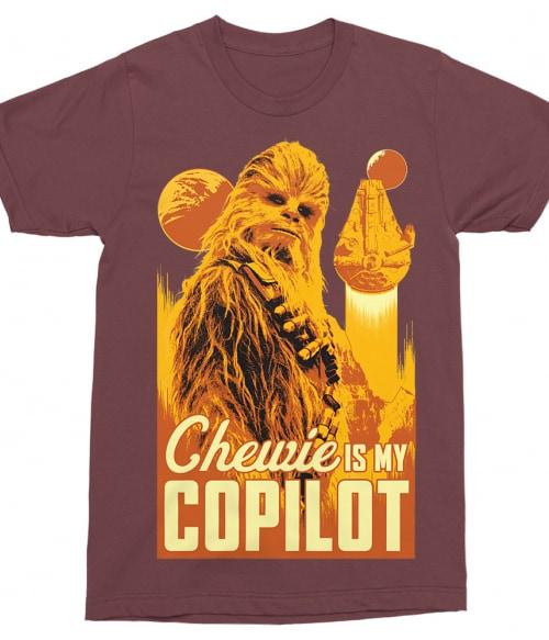 Chewie copilot Póló - Ha Star Wars rajongó ezeket a pólókat tuti imádni fogod!