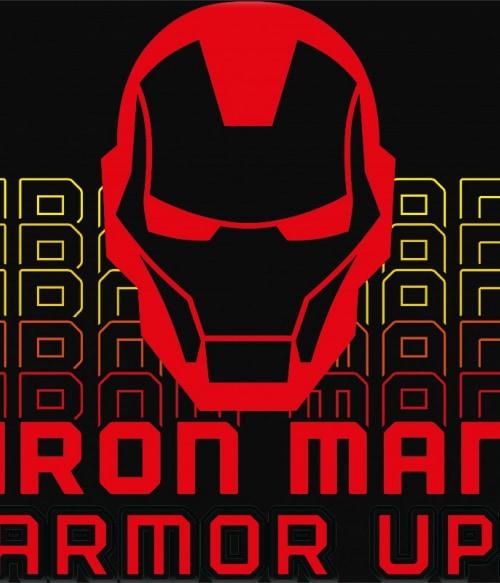 Armor up Póló - Ha Iron Man rajongó ezeket a pólókat tuti imádni fogod!
