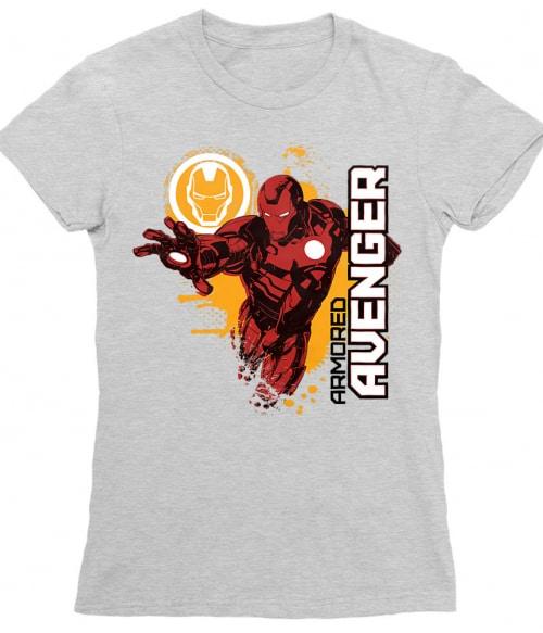 Armored splash Póló - Ha Iron Man rajongó ezeket a pólókat tuti imádni fogod!