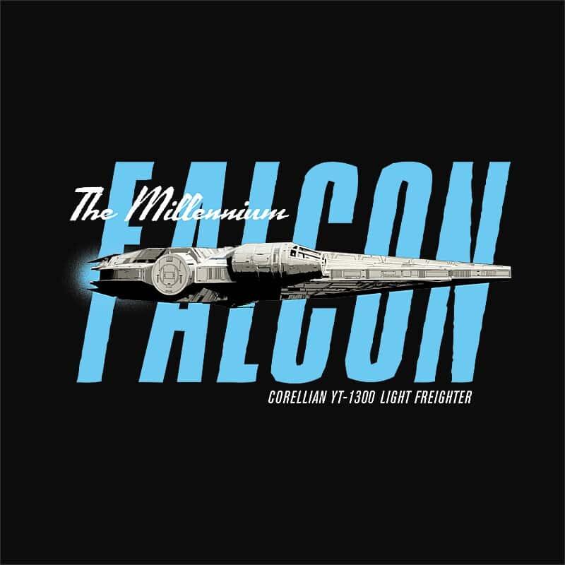Retro falcon Póló - Ha Star Wars rajongó ezeket a pólókat tuti imádni fogod!