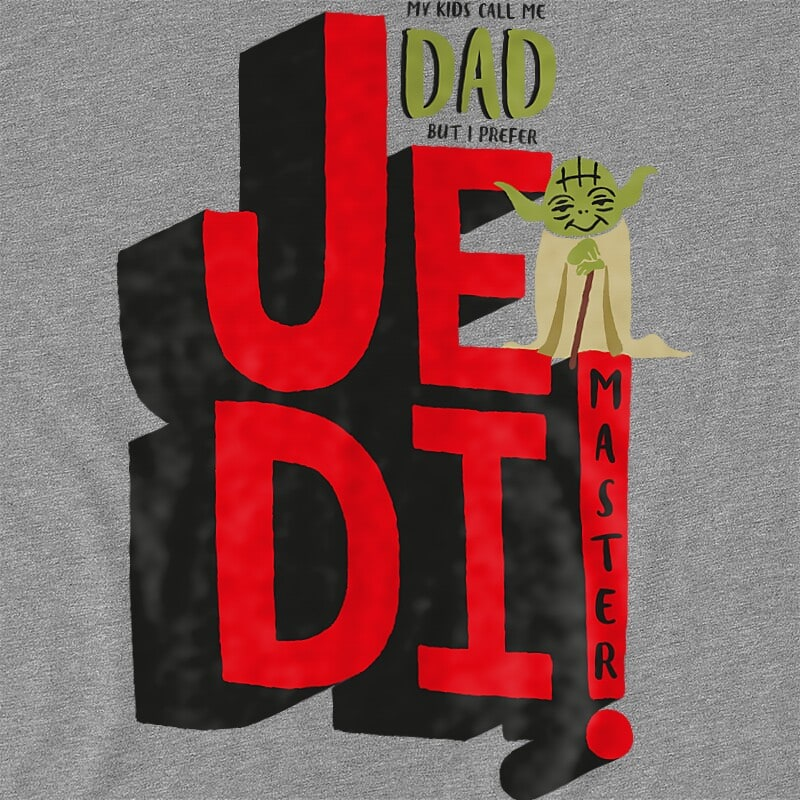 I prefer jedi master Póló - Ha Star Wars rajongó ezeket a pólókat tuti imádni fogod!