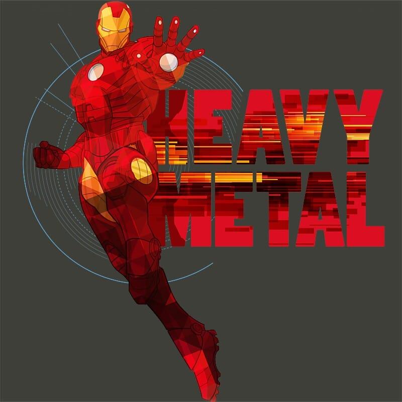 Heavy metal Póló - Ha Iron Man rajongó ezeket a pólókat tuti imádni fogod!