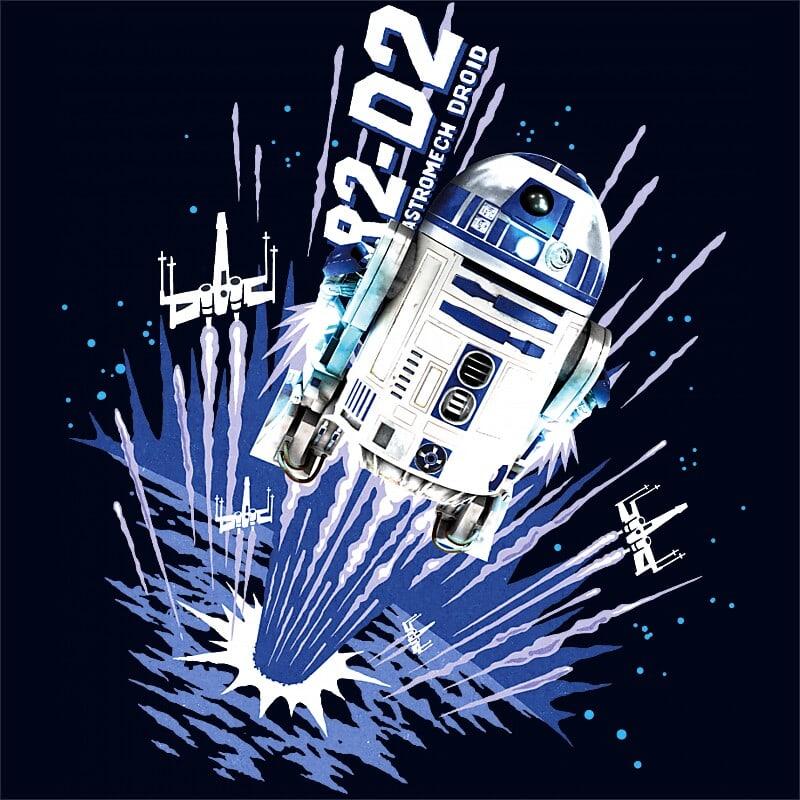 Astromech droid Póló - Ha Star Wars rajongó ezeket a pólókat tuti imádni fogod!