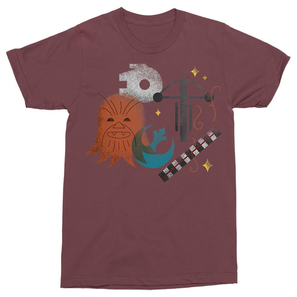 Chewbacca icons Póló - Ha Star Wars rajongó ezeket a pólókat tuti imádni fogod!
