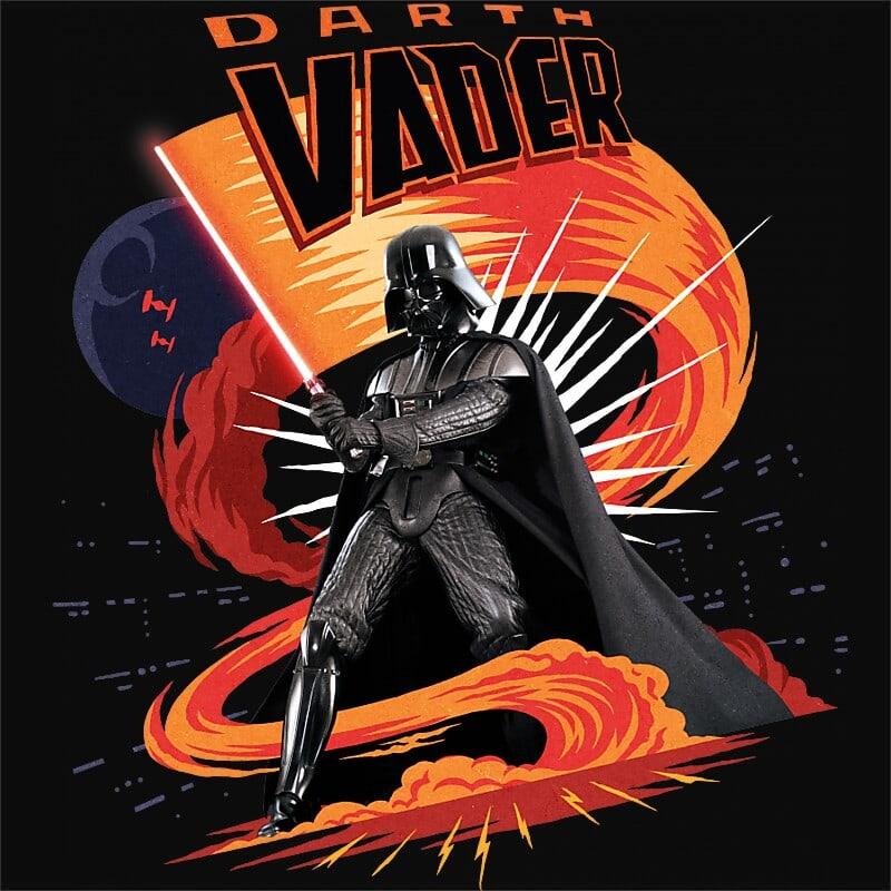 Darth Vader attack Póló - Ha Star Wars rajongó ezeket a pólókat tuti imádni fogod!