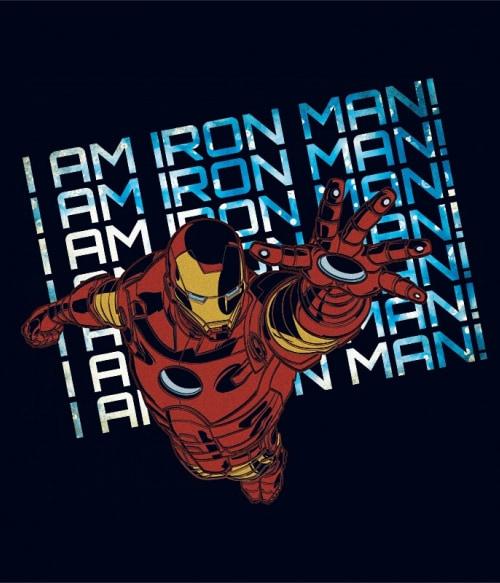 I am Iron Man Póló - Ha Iron Man rajongó ezeket a pólókat tuti imádni fogod!