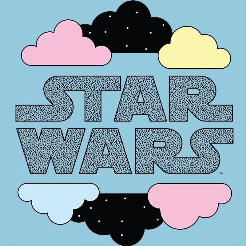 Star Wars Clouds Póló - Ha Star Wars rajongó ezeket a pólókat tuti imádni fogod!