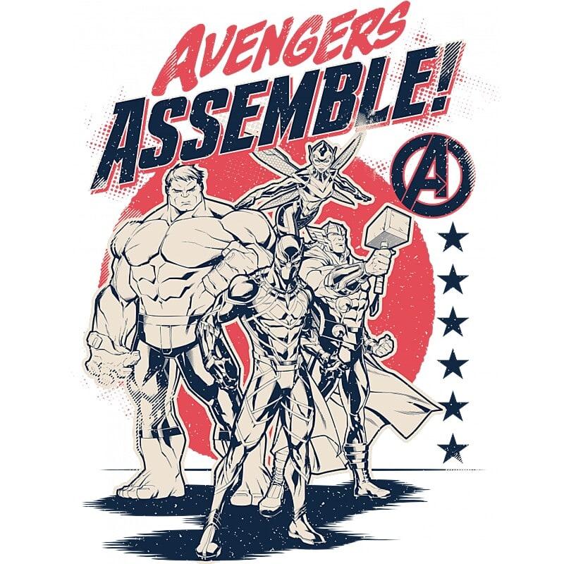 Avengers Assemble! Póló - Ha Avengers rajongó ezeket a pólókat tuti imádni fogod!