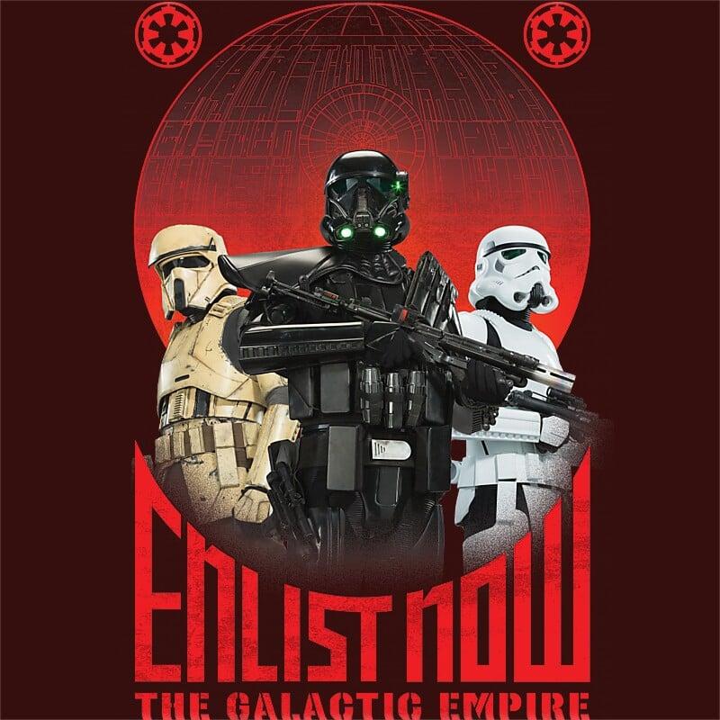 Enlist Now Póló - Ha Star Wars rajongó ezeket a pólókat tuti imádni fogod!