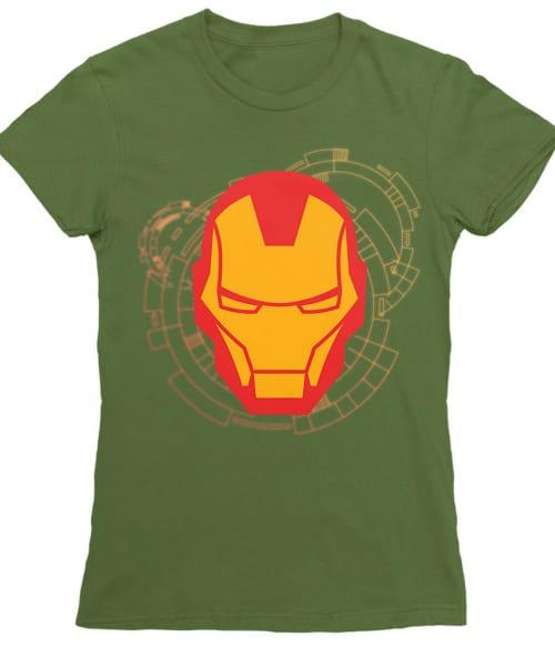 Iron Man head Póló - Ha Iron Man rajongó ezeket a pólókat tuti imádni fogod!