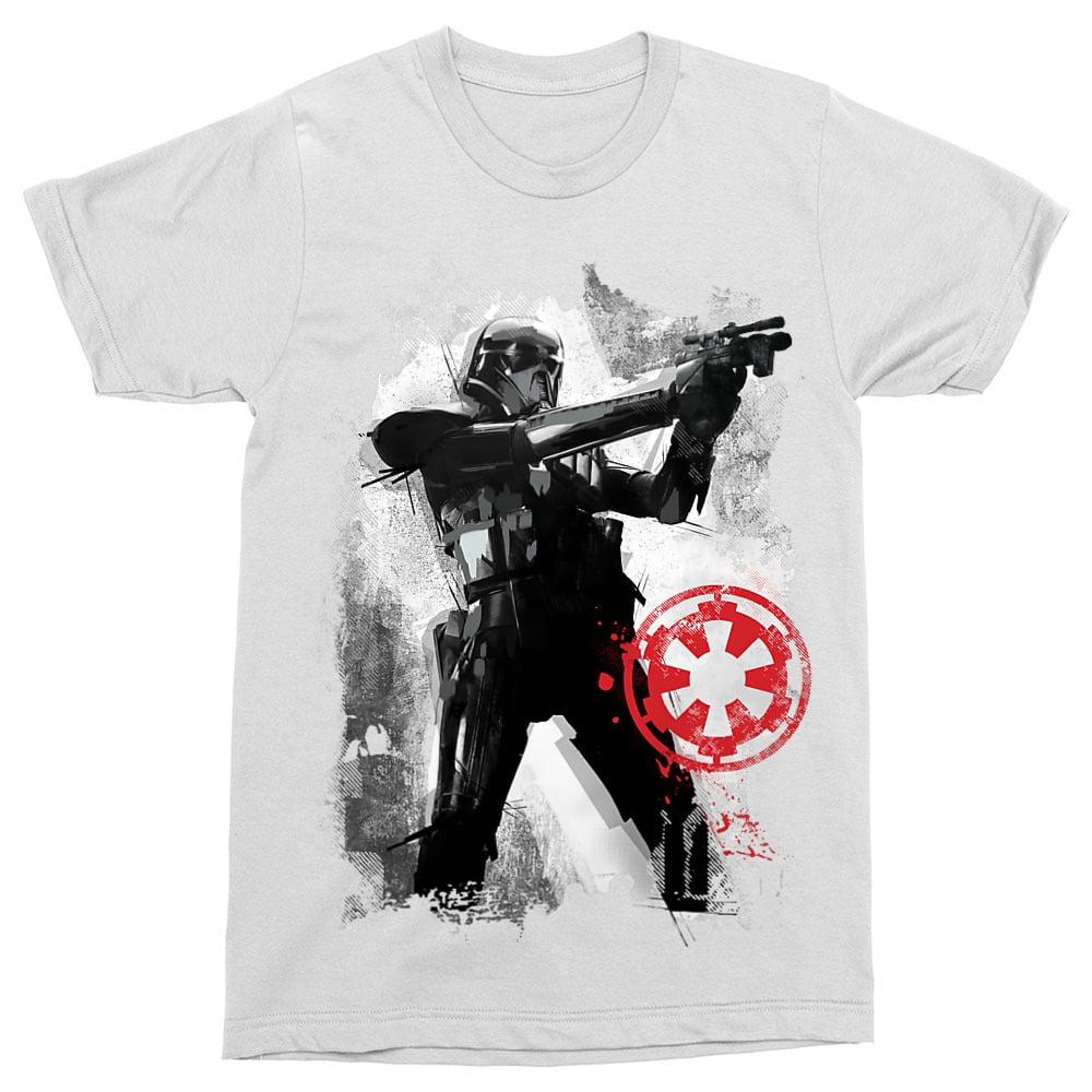 Trooper Shooting Splash Póló - Ha Star Wars rajongó ezeket a pólókat tuti imádni fogod!