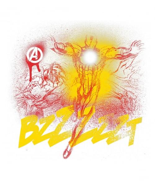 Iron Man paint Póló - Ha Iron Man rajongó ezeket a pólókat tuti imádni fogod!