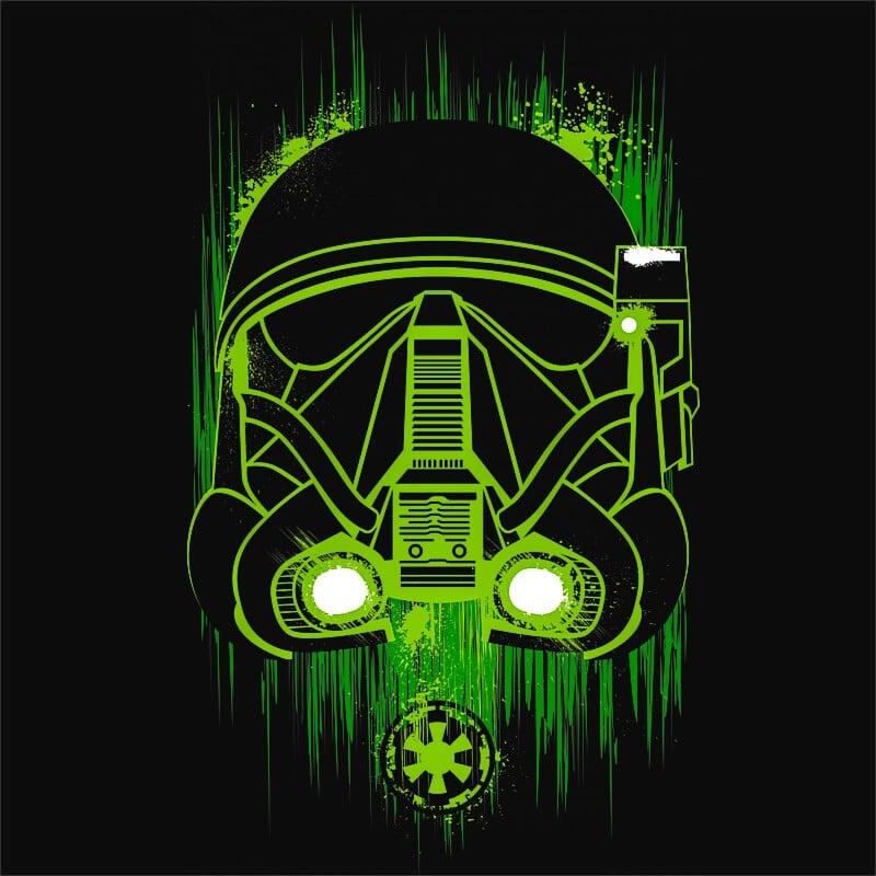 Green Deathtrooper Póló - Ha Star Wars rajongó ezeket a pólókat tuti imádni fogod!