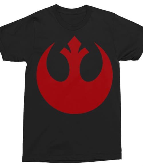 Red Rebellion Logo Póló - Ha Star Wars rajongó ezeket a pólókat tuti imádni fogod!