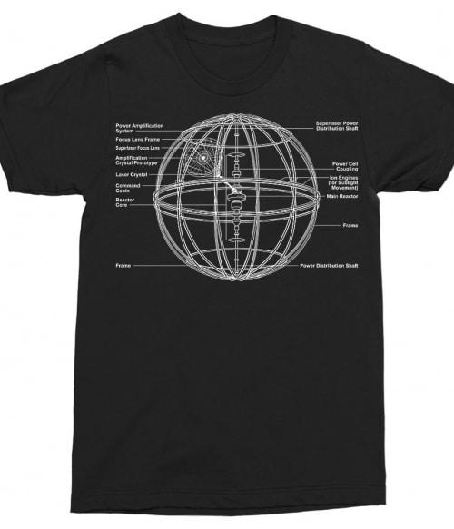 Death Star Blueprint Póló - Ha Star Wars rajongó ezeket a pólókat tuti imádni fogod!