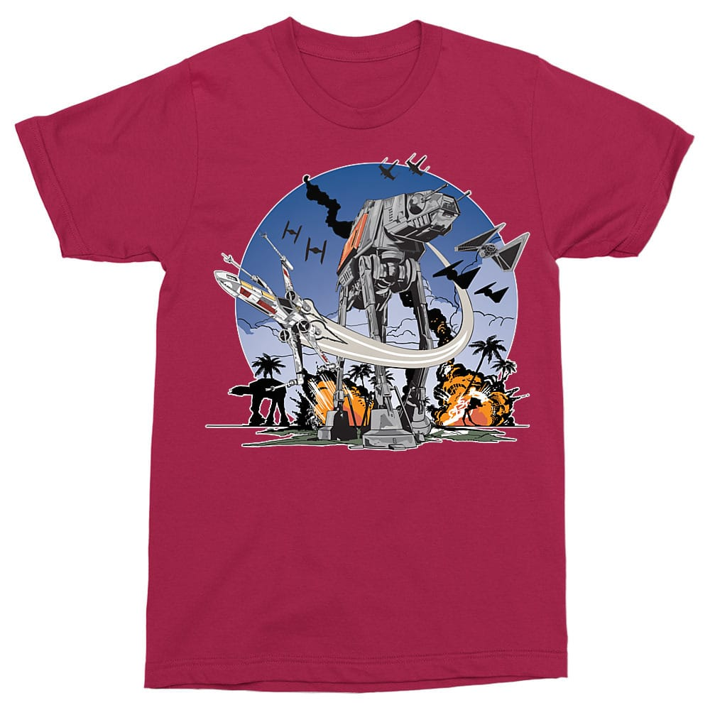 AT-AT Fight Póló - Ha Star Wars rajongó ezeket a pólókat tuti imádni fogod!