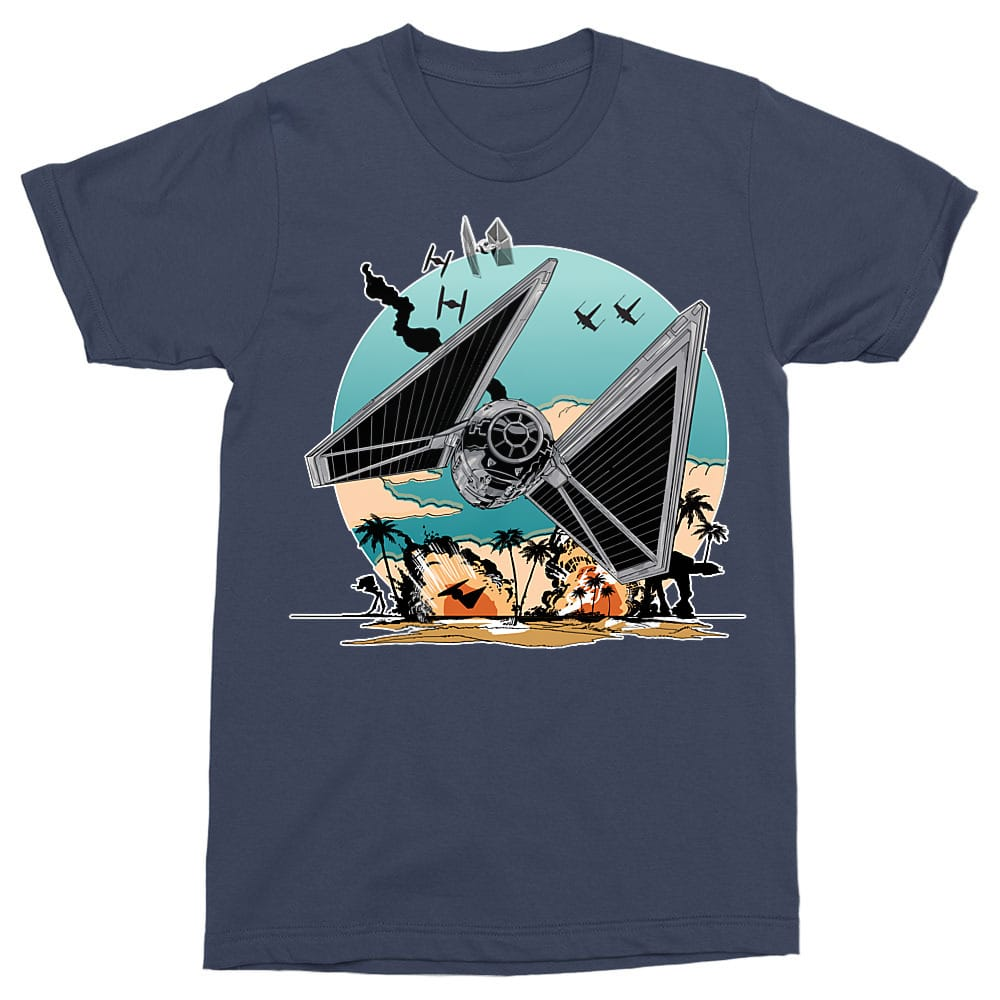Tie Fighter Fight Póló - Ha Star Wars rajongó ezeket a pólókat tuti imádni fogod!