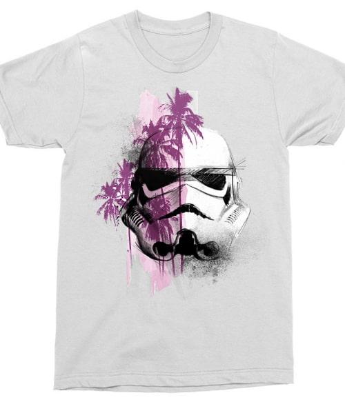 Pink Grunge Stormtrooper Póló - Ha Star Wars rajongó ezeket a pólókat tuti imádni fogod!