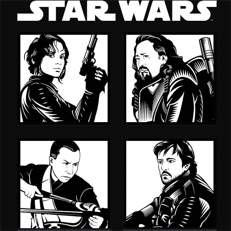 Rebel Team Póló - Ha Star Wars rajongó ezeket a pólókat tuti imádni fogod!