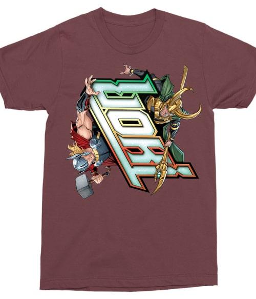 Loki and Thor Póló - Ha Thor rajongó ezeket a pólókat tuti imádni fogod!