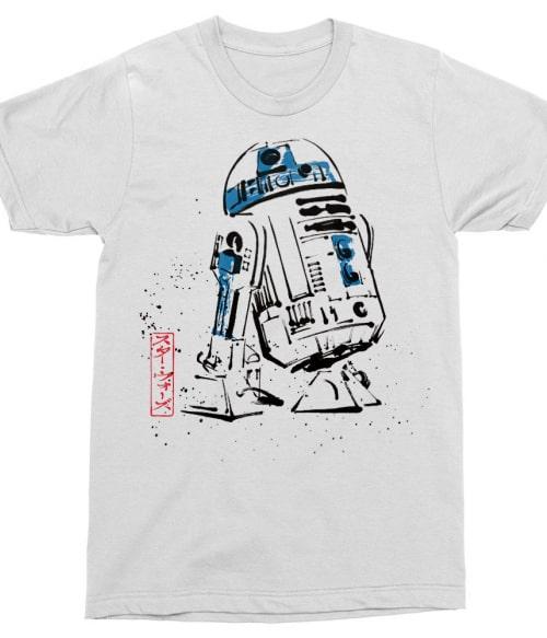 Painted R2-D2 Póló - Ha Star Wars rajongó ezeket a pólókat tuti imádni fogod!