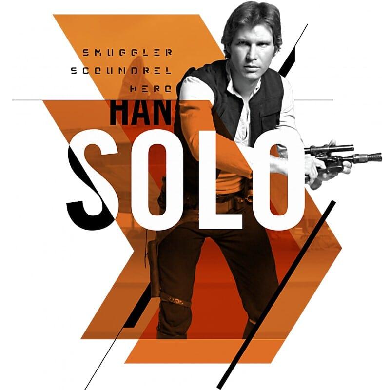 Han Solo Action Póló - Ha Star Wars rajongó ezeket a pólókat tuti imádni fogod!