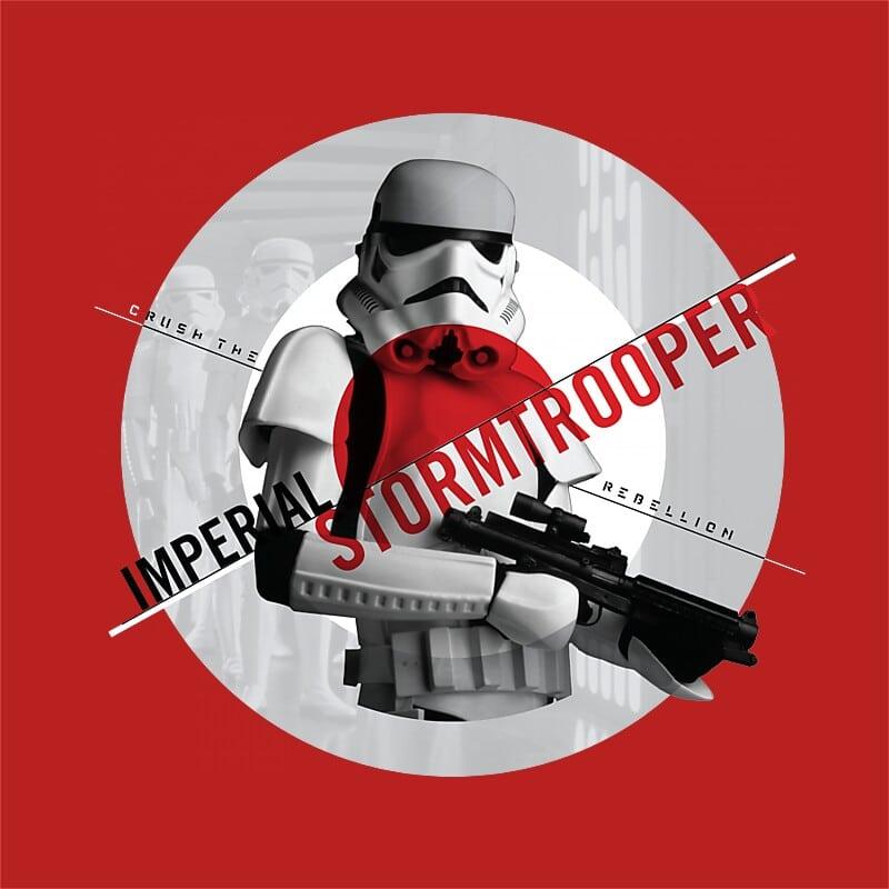 Crush the rebellion Póló - Ha Star Wars rajongó ezeket a pólókat tuti imádni fogod!