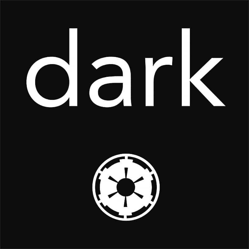 Dark symbol Póló - Ha Star Wars rajongó ezeket a pólókat tuti imádni fogod!