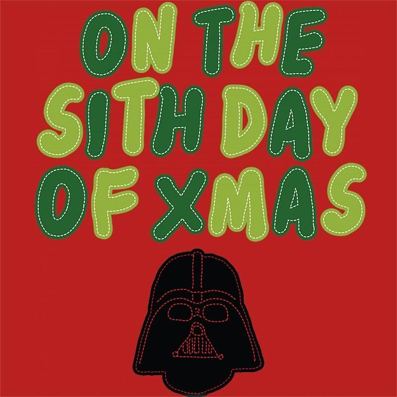 On the sith day of Xmas Póló - Ha Star Wars rajongó ezeket a pólókat tuti imádni fogod!