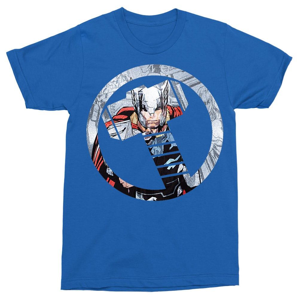 Thor comics logo Póló - Ha Thor rajongó ezeket a pólókat tuti imádni fogod!