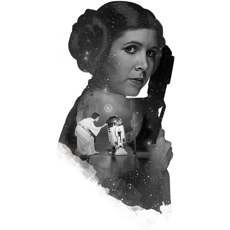 Leia classic Póló - Ha Star Wars rajongó ezeket a pólókat tuti imádni fogod!