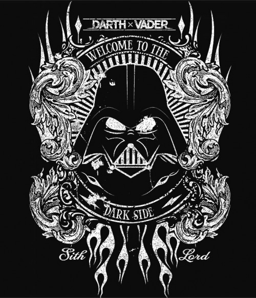 28748e3638 Welcome to the dark side. Select Options · Vader soundtrack Póló - Ha Star  Wars ...