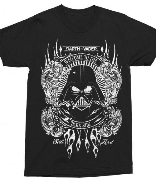 Welcome to the dark side Póló - Ha Star Wars rajongó ezeket a pólókat tuti imádni fogod!