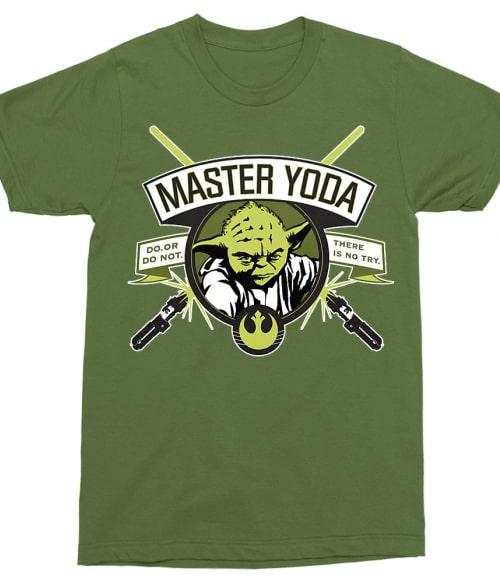 00d723922c Master Yoda Póló - Ha Star Wars rajongó ezeket a pólókat tuti imádni fogod!