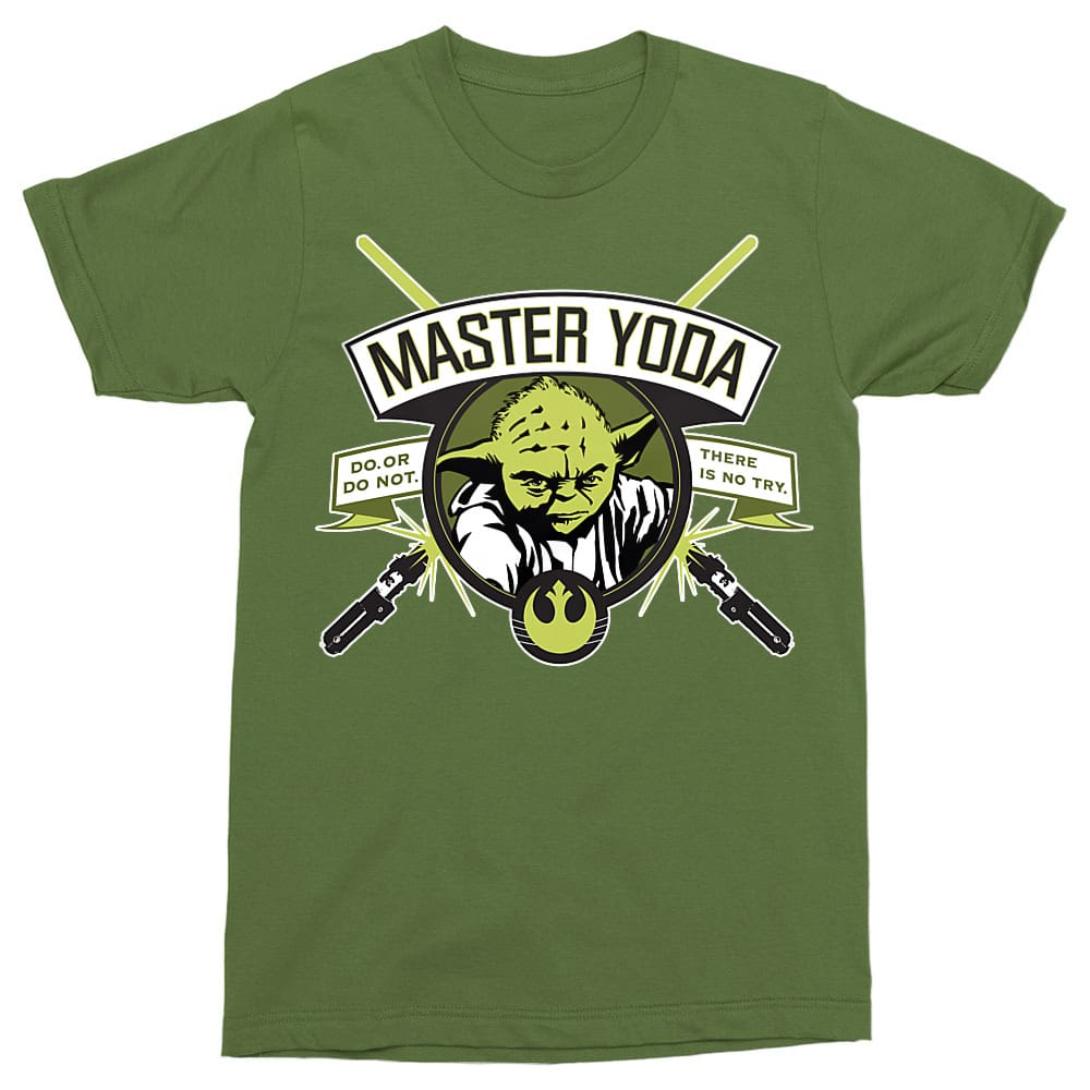 Master Yoda Póló - Ha Star Wars rajongó ezeket a pólókat tuti imádni fogod!